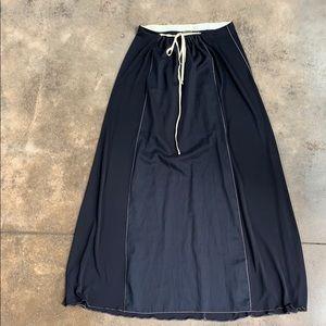 Rozae Nichols Linen Panel Skirt